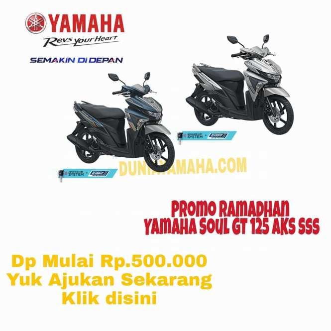 harga Promo Ramadhan Soul GT 125 Aks sss -duniayamaha