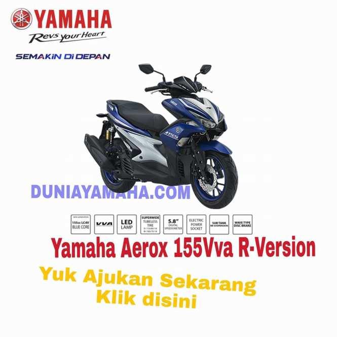 harga Promo Ramadhan Yamaha Aerox 155Vva R-version - Duniayamaha