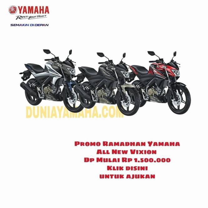 harga Promo Ramadhan Yamaha all new vixion - duniayamaha