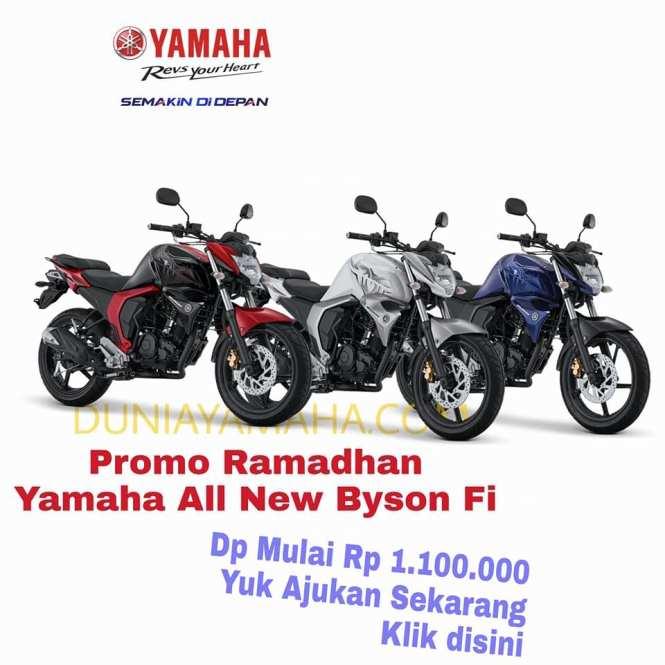 harga Promo Ramadhan Yamaha Byson Fi - duniayamaha