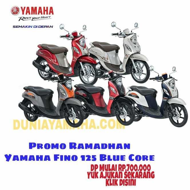 harga Promo Ramadhan Yamaha fino 125 blue core - duniayamaha