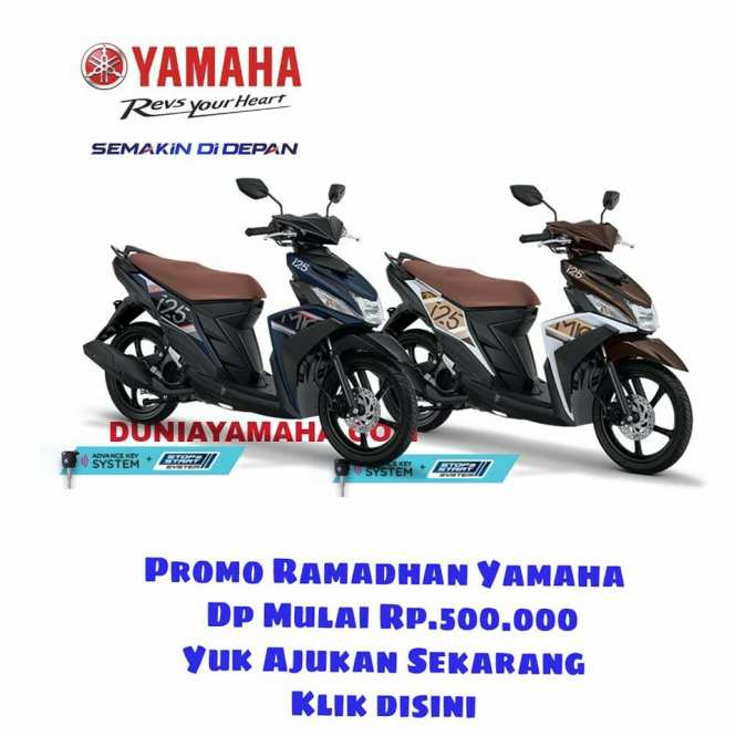 harga Promo Ramadhan Yamaha Mio M3 Aks Sss - duniayamaha