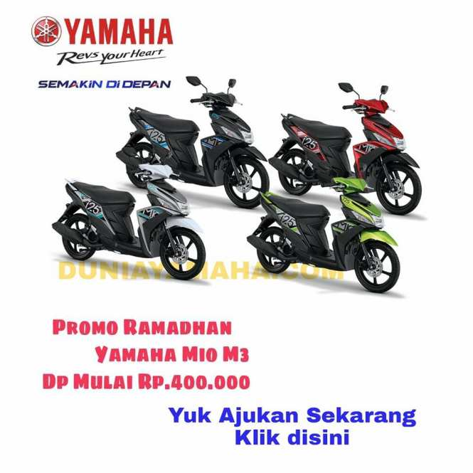 harga Promo Ramadhan Yamaha Mio M3 - duniayamaha