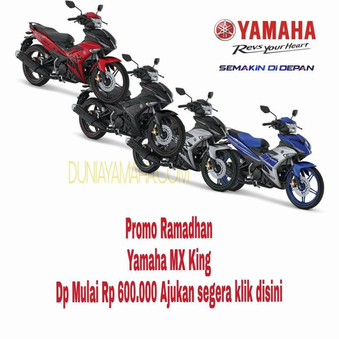 harga Promo Ramadhan Yamaha MX King - duniayamaha
