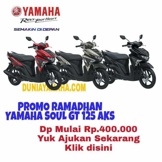 harga Promo Ramadhan Kredit Motor Yamaha Soul GT 125 Aks - duniayamaha