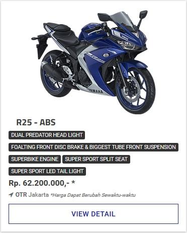 Kredit Motor Yamaha All New R25 Abs