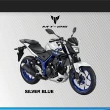 MT25 SILVER BLUE