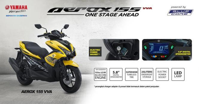 kredit-yamaha-aerox-155cc-kuning