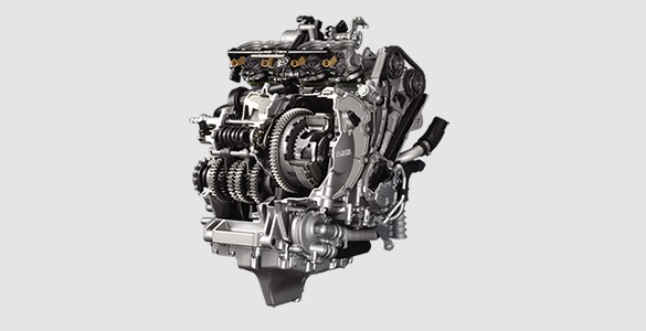 High-compression Cylinder Head and Lightweight Engine yamaha r1.jpg