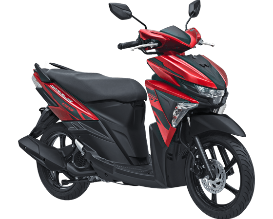 Kredit Motor Yamaha Soul gt 125 aks Merah
