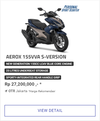 Kredit Motor Yamaha Aerox 155Vva S Version