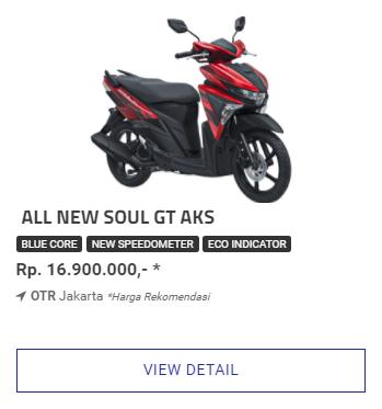 Kredit Motor Yamaha Soul GT 125 Aks