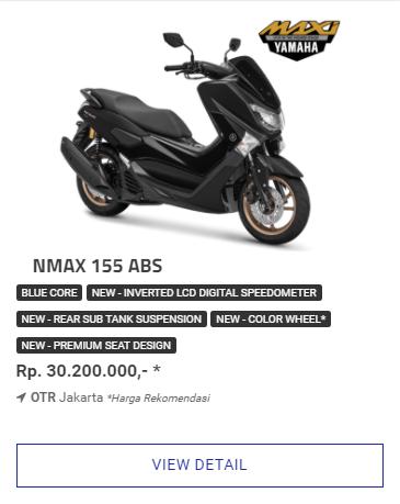 Kredit Motor Yamaha Nmax 155 Abs