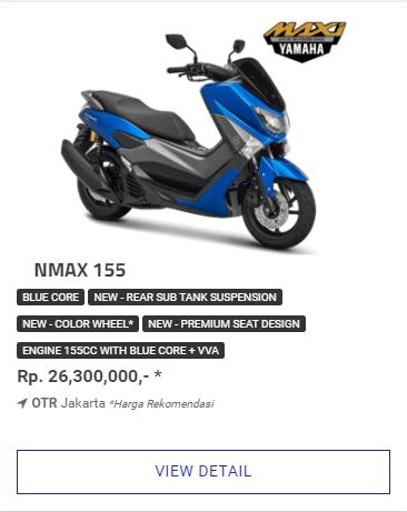 Kredit Motor Yamaha Nmax 155 Non Abs