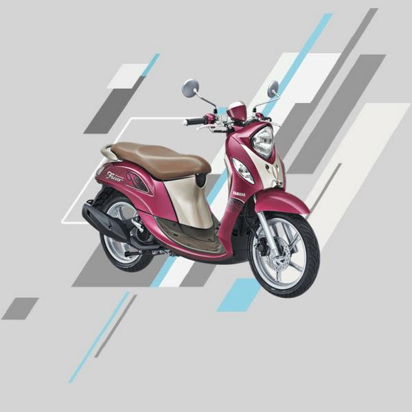 Yamaha fino premium ungu