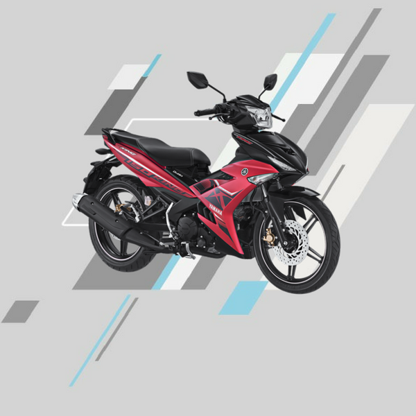 Yamaha mx king merah