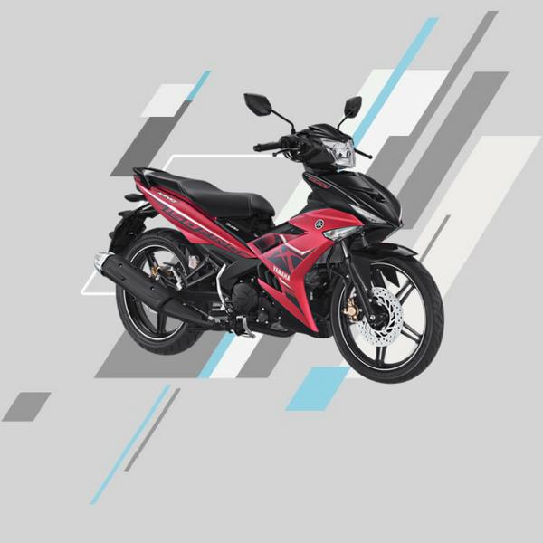 Yamaha mx king merah