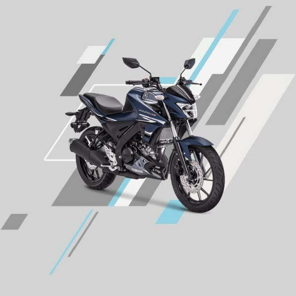 Yamaha vixion r mate blue
